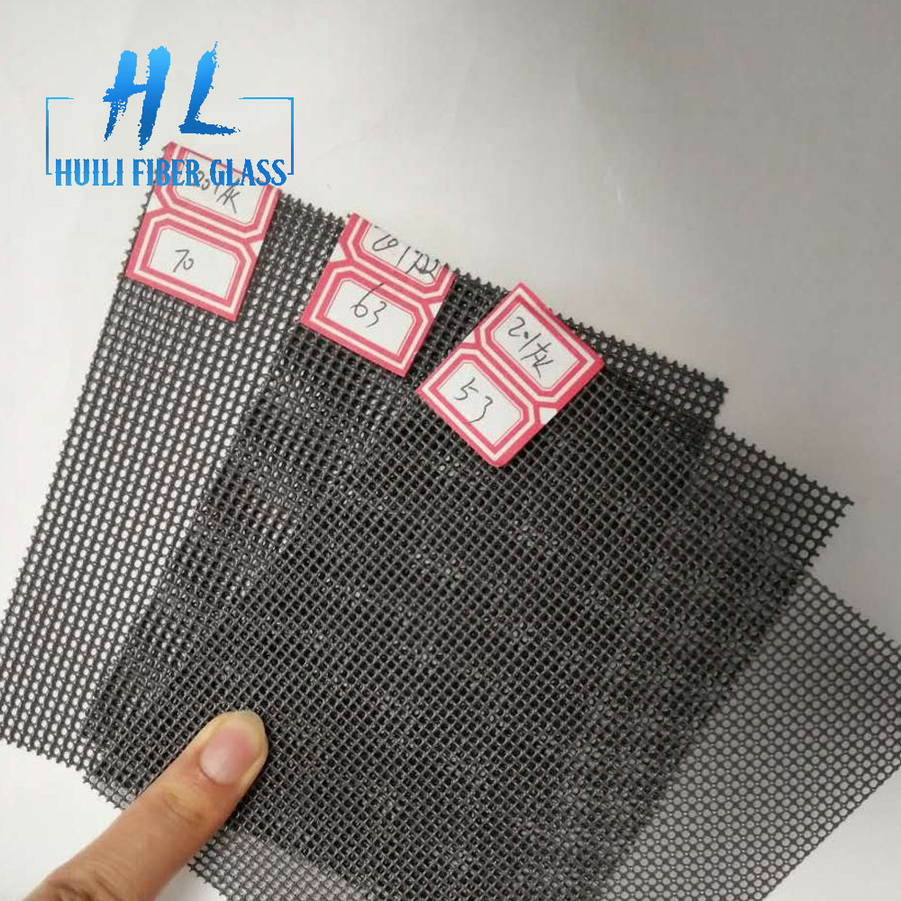 pvc coated stainless steel window security screen