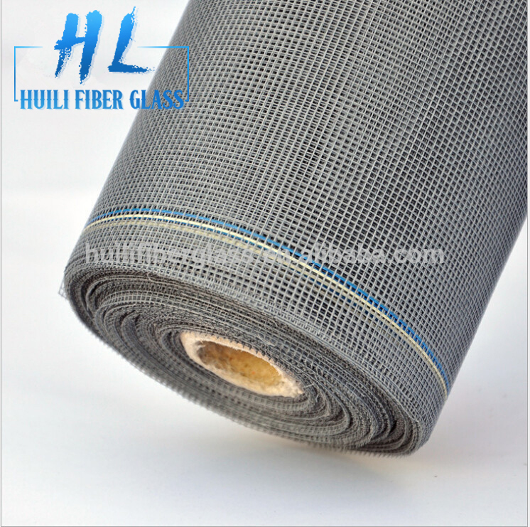 Pvc coated window screen /roller fly screen 18*16 mesh