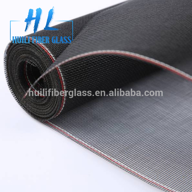 Retractable fly screen window/fiberglass insect screen/Roller screen window (China manufacturer)