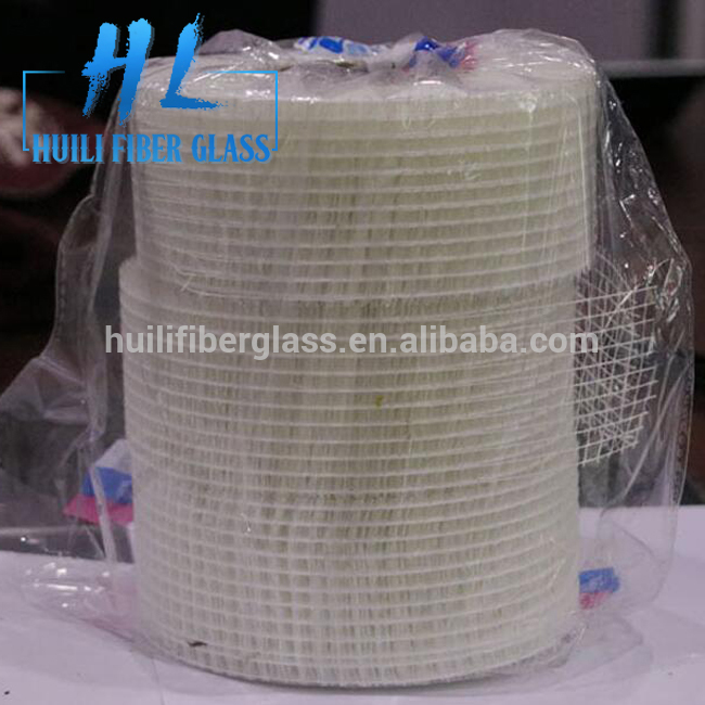 Self Adhesive Fiberglass Mesh Joint Tape For Cracks Holes