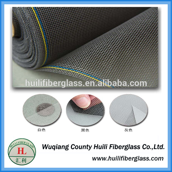 Sound Proof PVC coated window screening/fiebrglass screening fly mesh screen/insect nets