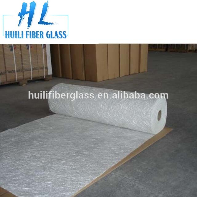 Swimming pool lay-up heat insulation fiberglass choppedstrand mat