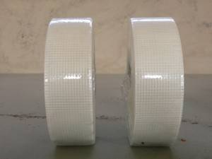 White Self adhesive Fiberglass Joint Mesh Tape for Wall Crack