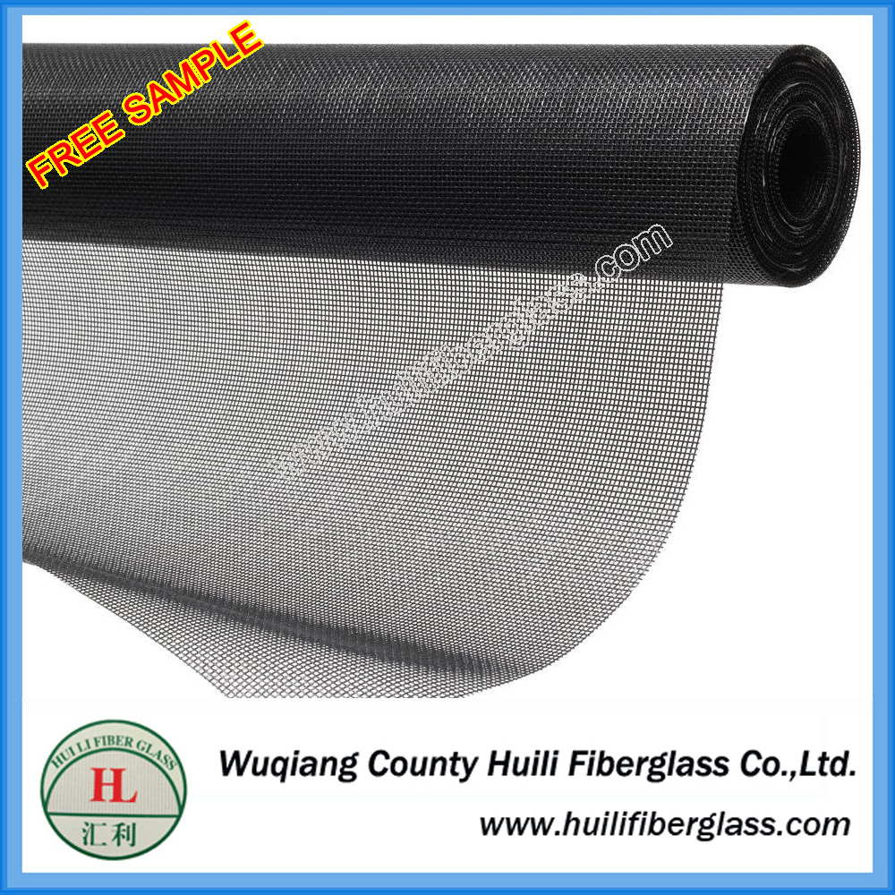 Transparent and invisible 18*16 fiber net for aluminum windows