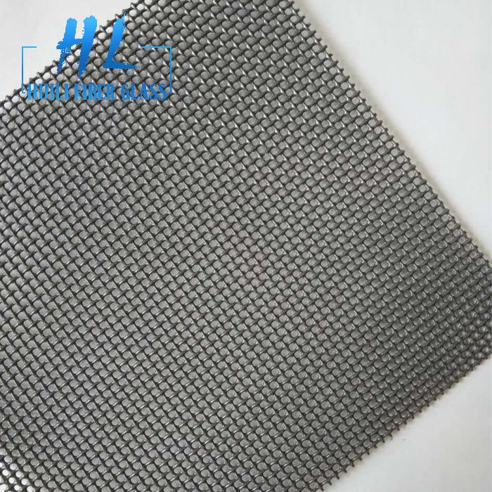 Vinyl coated stainless steel woven wire cloth for security door screen