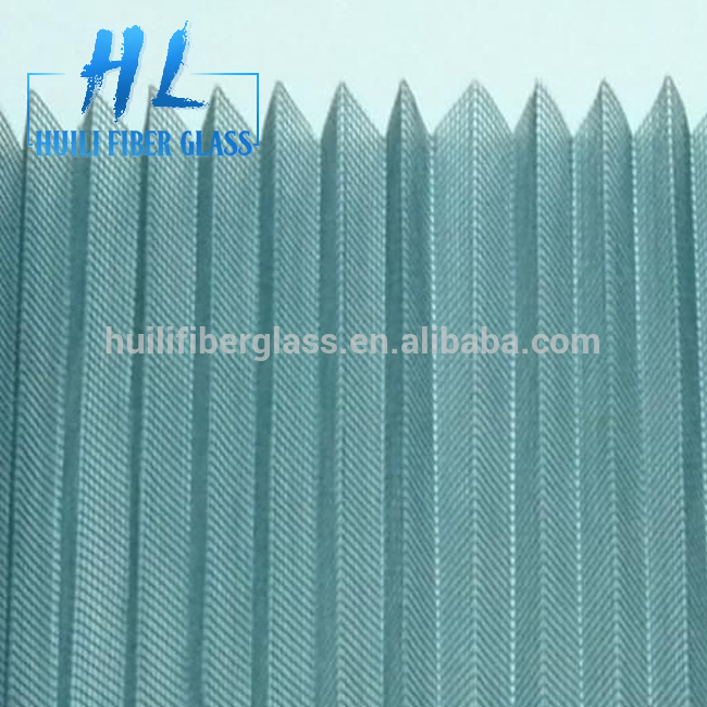 waterproof Plisse insect screen/Malla Mosquitera/fiberglass insect screen