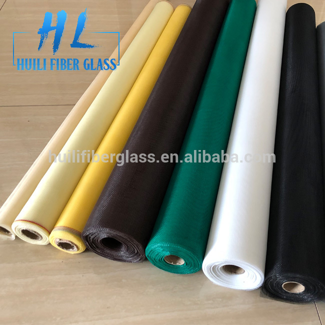 Chinese Professional Fiber Glass Filament Yarn - white fiberglass insect screen/fly screen/ mosquito net roll 18*14mesh – Huili fiberglass