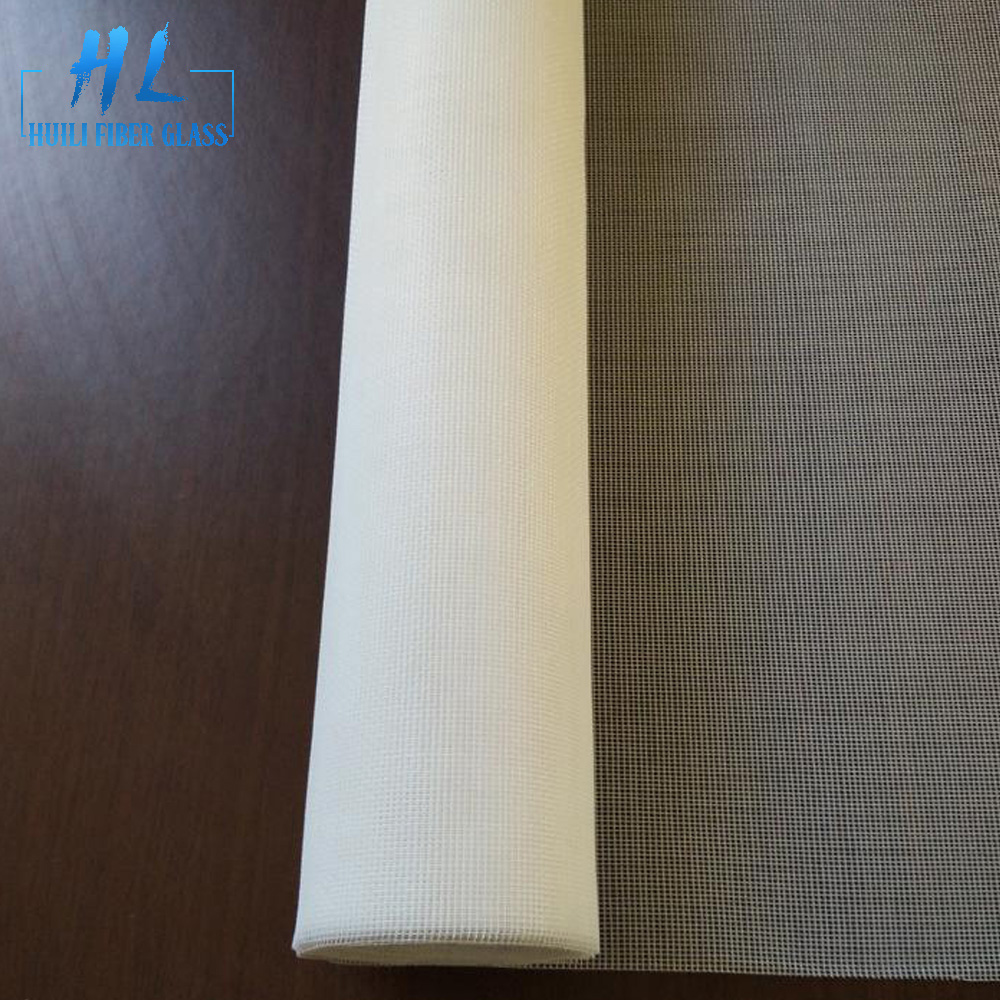 Factory Free sample Fiberglass Greenhouse Covering - white fiberglass insect screen – Huili fiberglass