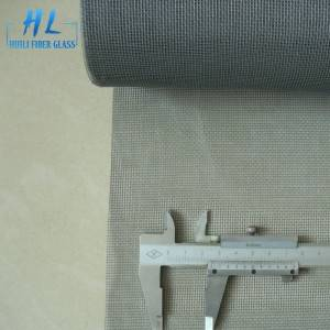 2.0m x 30m Grey PVC Coated Fiberglass Window Fly Screen