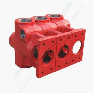HNA 400-HT Plunger Pump Fluid End Block