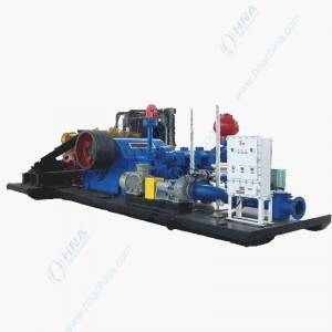 Pump Plus Diesel Engine Skid Package Unit