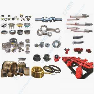 HNA Plunger/Frac Pump Spare Parts Interchangeability