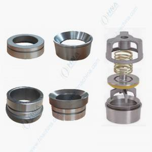 Valve Seat, for Plunger/Frac Pump–One-Piece Forged with Full Open, Cage Valve Seat Design