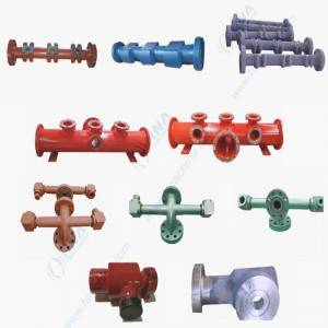 Suction Manifold & Discharge Manifold and Assembly Parts