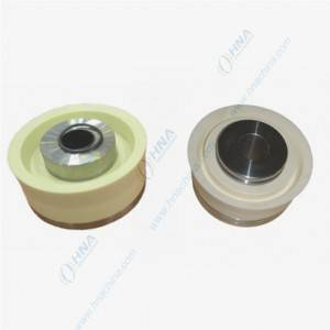 High Corrosion-Proof, High Temperature High Pressure Bonded Piston with Dual Duro Polyurethane – FLex Lip Dual White