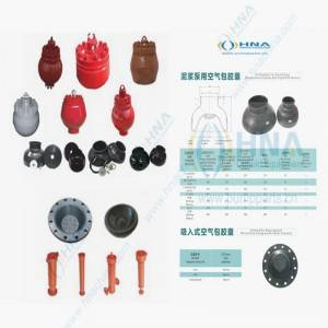 HNA Pulsation Dampener, Diaphragm/Capsule/Bladder & Assembly Parts, Suction Dampener, Suction Stabilizer Interchangeability