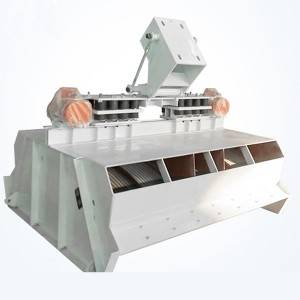 FHS Type Curved Dewatering Vibrating Screen for Classify