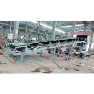 Flat Belt Conveyor for Loading and Unloading