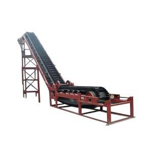 DJ Type Inclined Discharge Belt Conveyor for Packaging