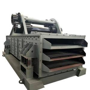 GPS Type High Frequency Triple Deck Vibrating Screen