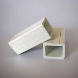 Chinese Suppliers FRP(Fiberglass) Pultruded Square Tube Profiles Pipe