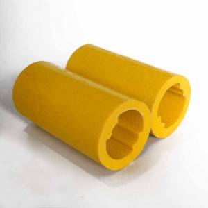 Low Price Wholesale FRP(Fiberglass) Pultruded Pipe Shaped Round Tube