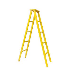 Fixed Competitive Price Shaped Angle Steel - High Strength FRP(Fiberglass) Insulated Herringbone Ladder – Jinglong