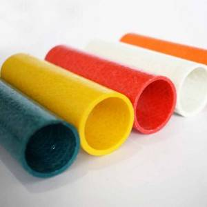 China Wholesale FRP(Fiberglass) Pultruded Profiles Pipe Round Tube