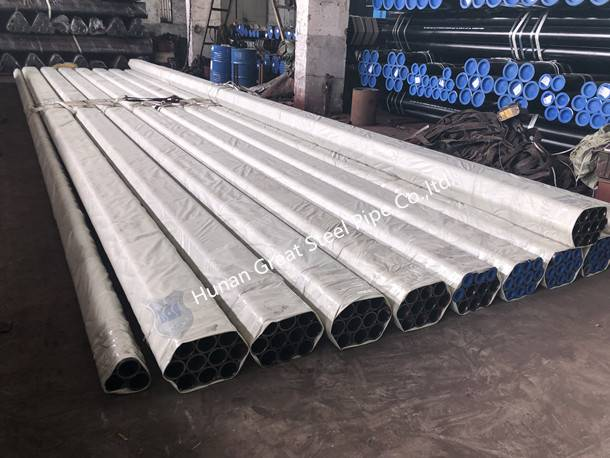 309 Tons ASTM A179 Boiler Tubes Ready for Shipment
