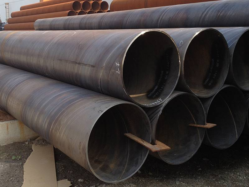 How to deal with the revers of spiral steel pipe