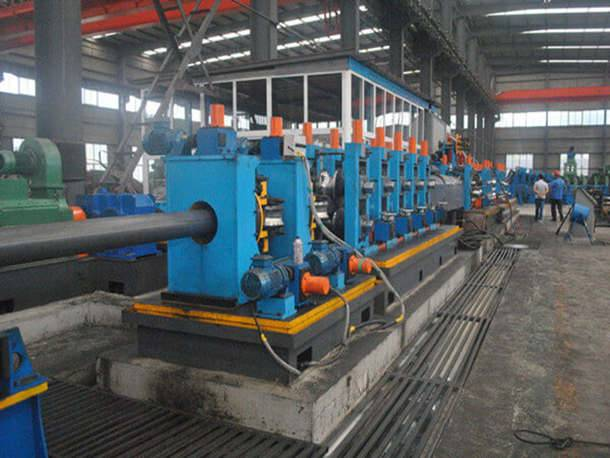 24″ ERW Steel Pipe Production Process