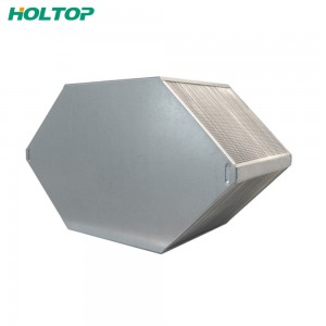 2017 High quality Copper Tube Aluminum Fin Air Heat Exchanger -