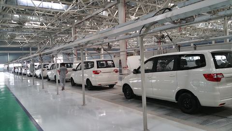 BAIC Motor Manufacturing Base AHU Project