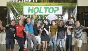 Holtop Held a Wonderful Specifier's Invitation Golf Cup in Philippine