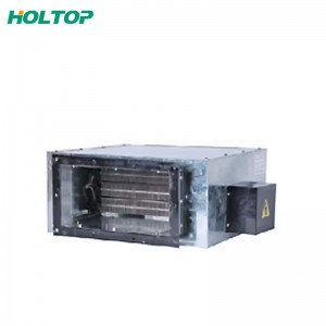 China Factory for Air Cooled Condensing Unit Heat Exchanger From ManufactureDuct Type Electrical Heaters