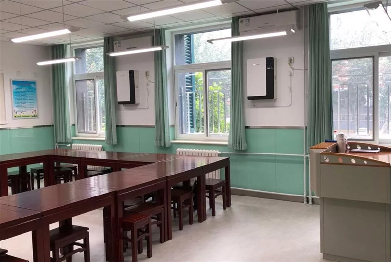 Holtop Energy Recovery Ventilator Creating the First Class Classroom Air Quality