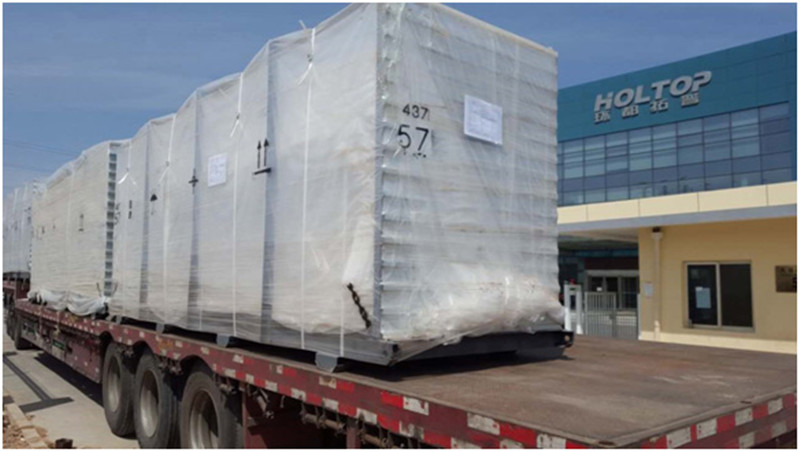 Holtop central air conditioning system delivered to Geely-Belarus Large Automobile Assembly Project