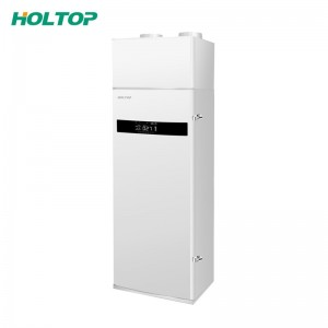 Duct Vertical Heat Energy Recovery Ventilator Fresh Air Recuperator with HEPA filter