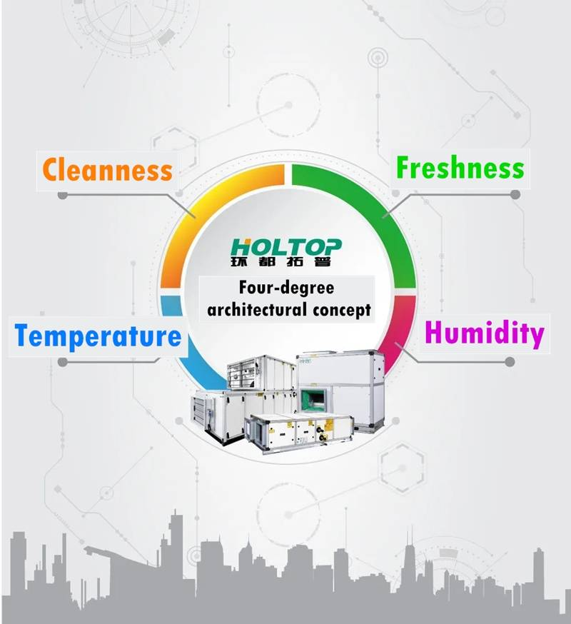 Holtop Won the China Top Ten Brands of Fresh Air!