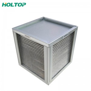 China Factory for Air Cooled Condensing Unit Heat Exchanger From Manufacture Sensible Plate Heat Exchanger