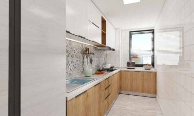 Galley Kitchen Designs | L Shaped Kitchen Layout