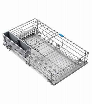 Stainless Steel Dish Rack and Kitchen Organizer
