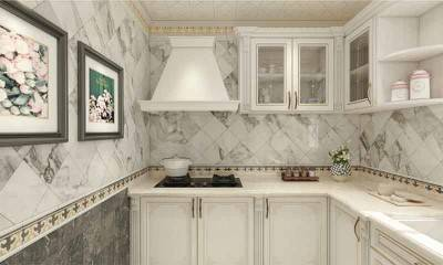 Antique White Kitchen cabinet design| Luxury Kitchen Design