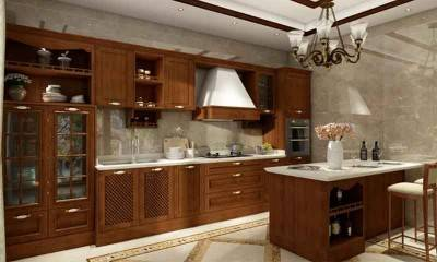 Vintage Kitchen Cabinets with Island | Best Kitchen Design