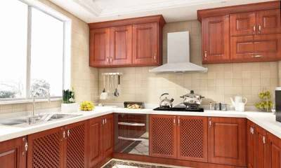 Antique Kitchen Cabinets in Brown | Custom Cabinet Manufacturer