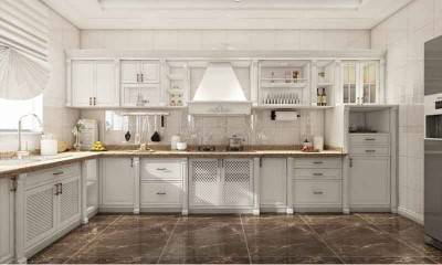 Antique White Kitchen Cabinets | Luxury Kitchen Design