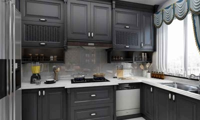 Black Kitchen Cabinets | Kitchen Design for Interior Decor