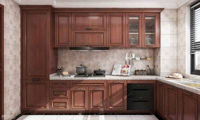 Galley Kitchen in American Style by Bespoke Cabinet Maker