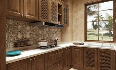 Kitchen Design in Southeast Asia Style | Custom Kitchen Cabinet