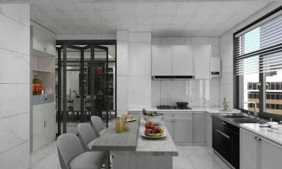 Modern Kitchen Ideas | Custom Kitchen Cabinets in Gray